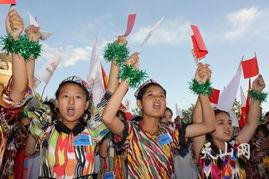 奥运圣火照亮古丝绸之路 祥云 降临明珠喀什