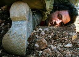 和平主义者抗议以色列时被捕-泰晤士报 2005年度优秀照片