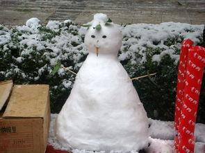 堆雪人图片大全
