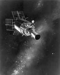 ...敌对国家 利用太空 美国想当太空霸主