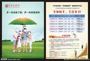 幸福账单温晓菁照片-...银行 彩页海报图片