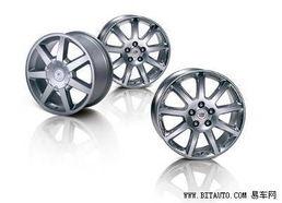 于凯迪拉克专业赛车.前窄后宽的车轮能够保证驱动轮拥有强大的抓地...