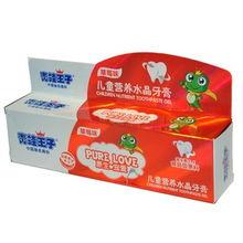 青蛙王子儿童营养水晶牙膏 草莓味 50g