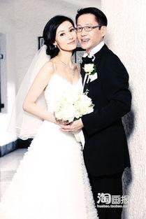 范玮琪与黑人大婚 婚纱写真全新组图揭秘精彩现场 五