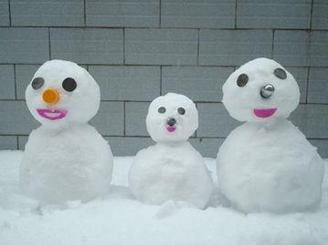 ...好大的雪啊 你堆雪人了么 进来秀秀吧