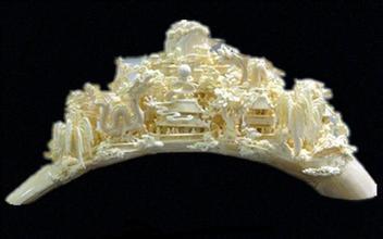 牙雕象牙雕刻-牙雕