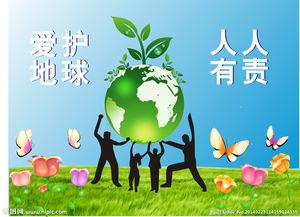 环保广告图片