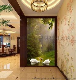 ... 天鹅湖森林 迎门墙瓷砖壁画图片,佛山瓷砖背景墙厂家个性定制彩虹...