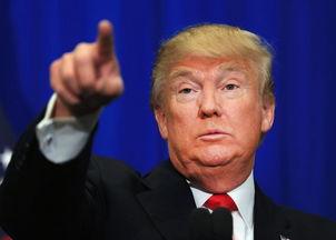 图:美国总统唐纳德·特朗普(Donald Trump)-特朗普推翻美国ISP隐...