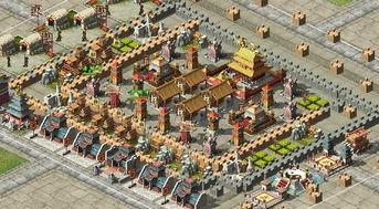 的很难,除非用神兵+天谴,那就没办法了....注意城防没,炮台都是放...