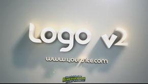 3D朦胧logo字体 AE包装模版 Videohive golden hour logo 179769 AE模...