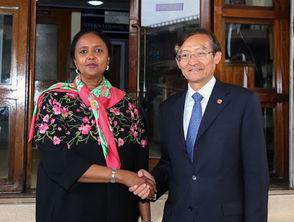 外交部副部长张明访问肯尼亚