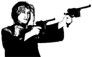历史上真实双枪老太婆 解放后被镇压无人能保
