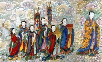 与道同寿-太素三元君是一位修真得道的女神,是三素元君(紫素元君、黄素元君...