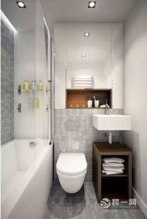 ...样式,就增加了两层收纳的地方了.-20款3平米小卫生间装修设计效...