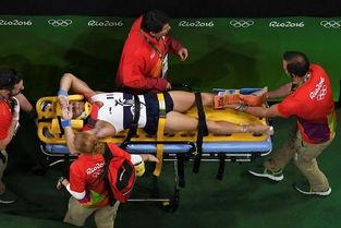 法国体操男将断腿   奥运会体操跳... 26岁的法国体操运动员萨米尔-艾...