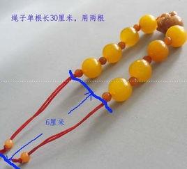水晶手链的编法 简单的水晶手链diy步骤图解