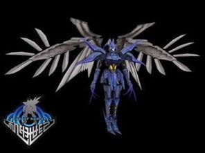 这个名叫飞翼零的翅膀是不是很炫呢?这可是全部使用超坚硬骨架做...