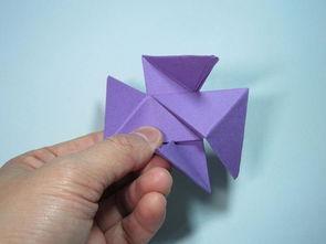 八角忍者飞镖的折法
