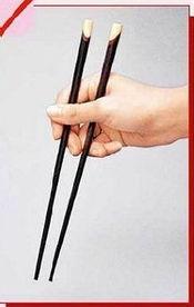筷子上的细菌比厕所还多资料图-筷子上的细菌比厕所还多 最好半年换...