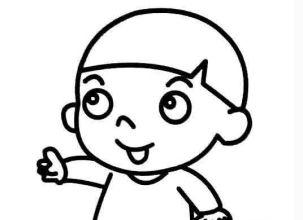 儿童画河流怎么画