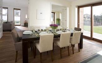 家庭饭桌-家居餐桌形状风水