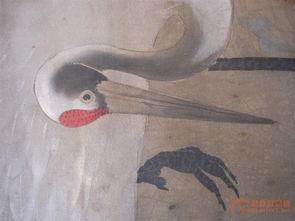 岳水的仙鹤图松树画法一样,-岳水的仙鹤图