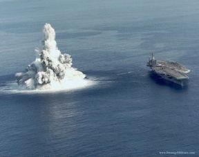 零号实验舰-...核动力航母用于试验.1987年,前一年刚服役的尼米兹级航母罗斯福...