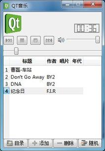 一个完整的 音乐播放器源代码 Qt 个人作品展示 PHPWind