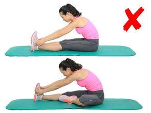 拉: 上图这个动作虽然常用,但并不是大腿后侧的最佳牵拉方案.下图...