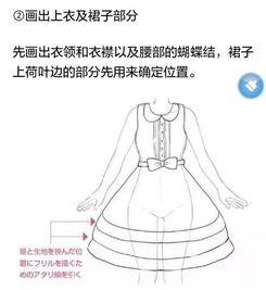 裙子与花边的画法,这下子学会了