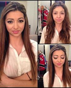 欧美色情电影化妆师曝光女优化妆前后对比照