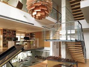 私人别墅设计楼梯效果图-2017私人别墅设计图片 房天下装修效果图
