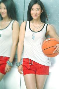 ...圃写真变身篮球宝贝 性感热裤大秀美腿
