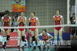 国际女排精英赛昆山站,在昆山体育中心的最后一场比赛中,中国队在...