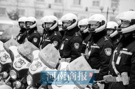 华中网 资讯中心 河南新闻 郑州有了自己的 PTU 魅影 特别行动小组亮相