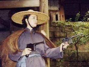 抗日英雄 双枪老太婆照片欣赏