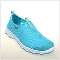 ...适透气防滑低帮运动鞋网鞋户外休闲鞋图片-防滑运动鞋图