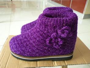 婴儿鞋的钩法 婴儿毛线鞋的织法大全