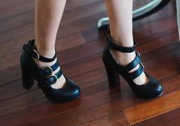 ...even 韩版高档时尚春季高跟鞋 高跟鞋 45seven