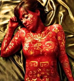巴西女艺术家身体当画布 创作美轮美奂人体彩绘 高清组图