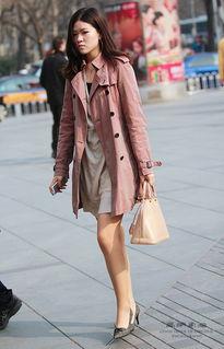 街拍 北京长腿美女人见人爱