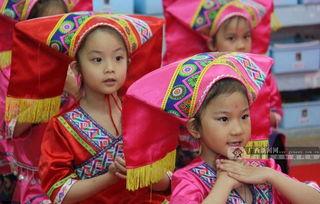 热闹 三月三 区直文化系统幼儿园融文化入教育