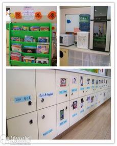 楼梯间两侧的卡通装饰画,也离不开英语氛围的营造~   学校的班级牌...