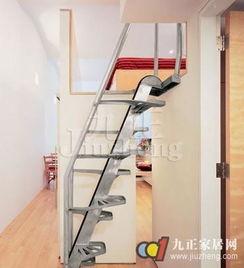 阁楼楼梯 节省空间的创意楼梯设计 3