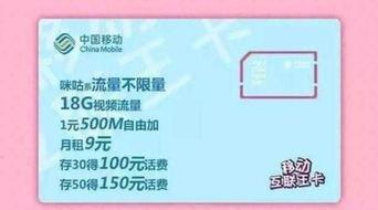 移动推出互联王卡 1元500MB流量