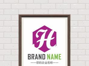 h字母标志设计 15529227 商业服务logo