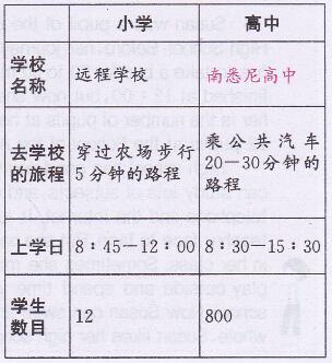 外研版九年级上册英语Revision module B 13部分课文翻译