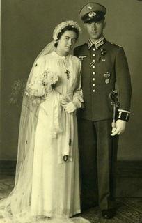二战德国军人结婚照 组图 -二战德国军人结婚照