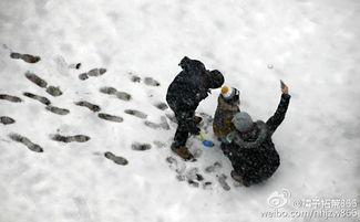 小雪飘大雪,大雪迎小雪